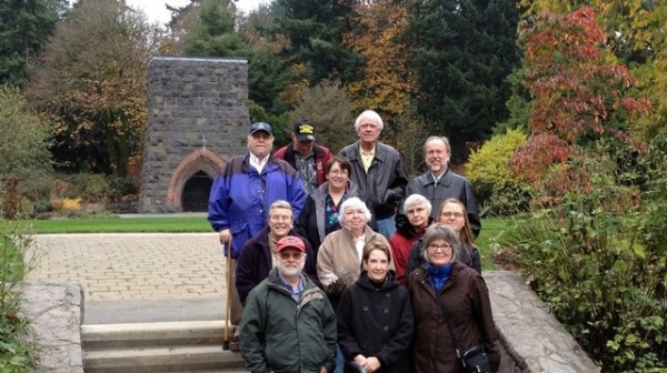 Members of the Oregon Commission on Historic Cemeteries during a recent meeting in Lake Oswego.