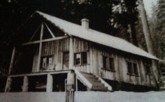 The Fish Lake Hall House in 1924.