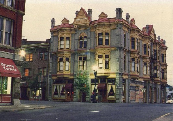 The 1890 Barber Block & Odels building, one of many great historic buildings in the Grant Avenue Historic District.