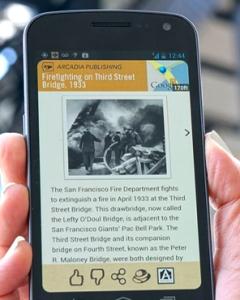 Field Trip App Display