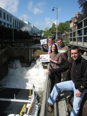"The Locks were entered in the National Trust's ""This Place Matters"" challenge in 2011. (Photo credit: Sandy Carter)"