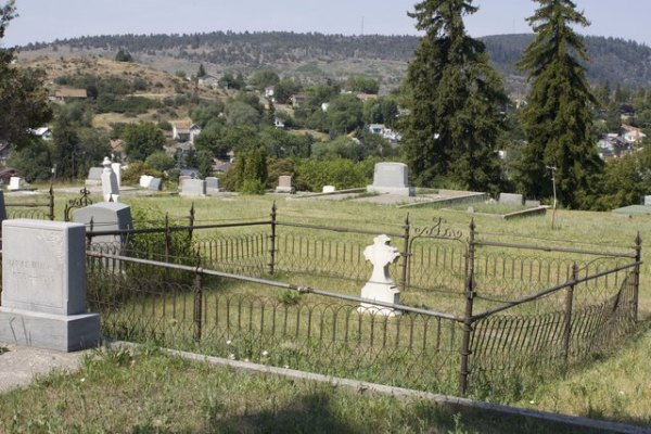 A view from the Linkville Pioneer Cemetery in Klamath Falls.