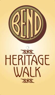 Screenshot of the Bend Heritage Walk app.