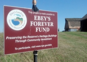 Ebey's Forever Fund helped fund the preservation of the Comstock Barn.
