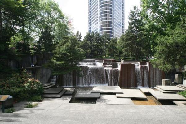 Halprin Open Space Sequence, Forecourt Fountain Park in Portland.