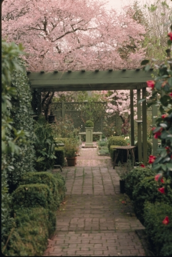 Part of the Lord & Schryver Garden in Salem.