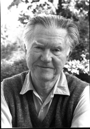 Poet William Stafford.