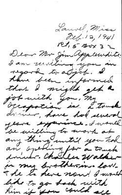 Gilchrist letter