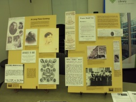 Oregon Jewish Museum and Center for Holocaust Education display