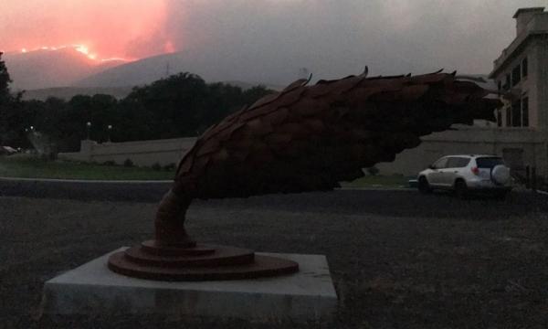 Maryhill fire image