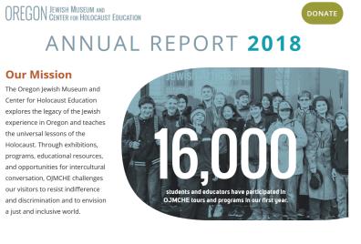 OJMCHE Annual Report